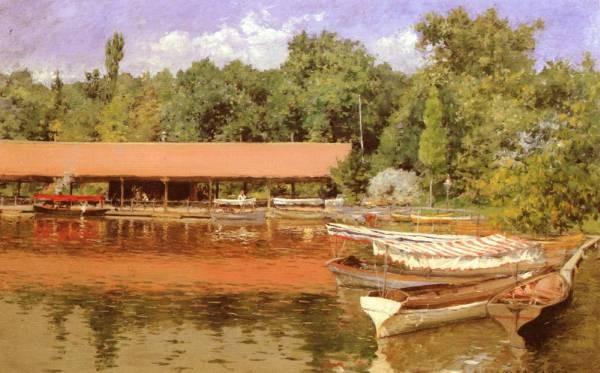 Boat House Prospect Park